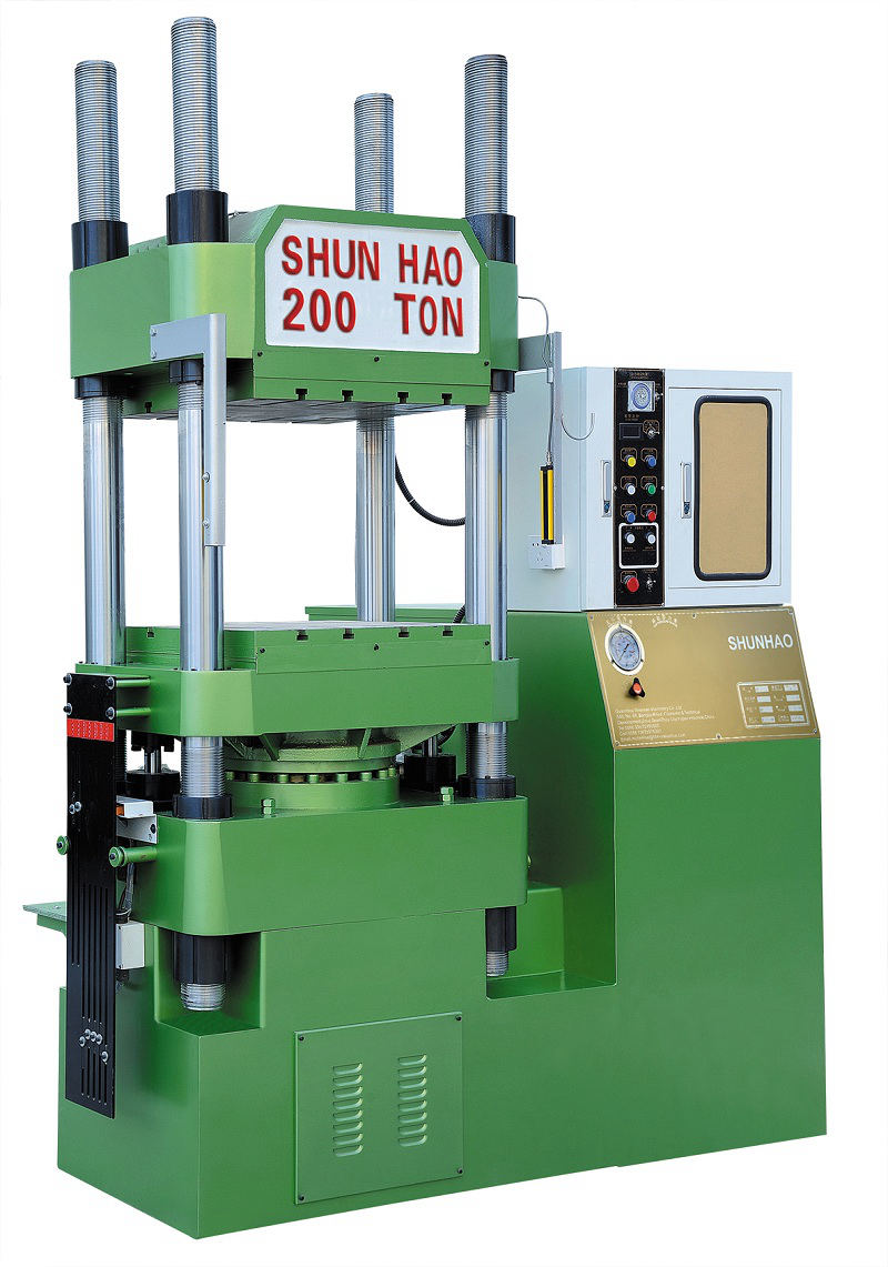 200T Automatic Hydraulic Press Melamine Moulding Machine