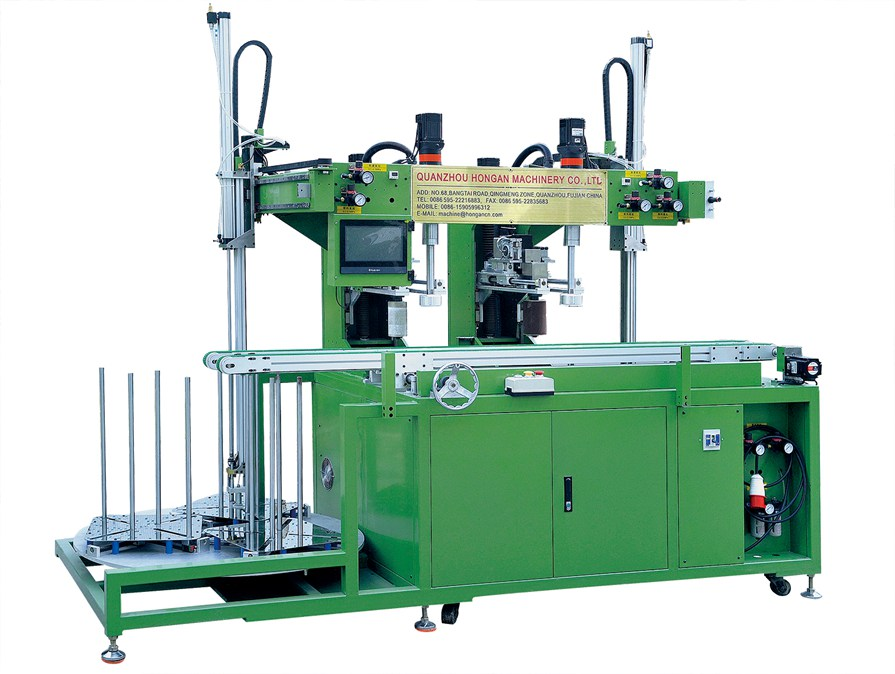 2 head tableware edge grinding machine