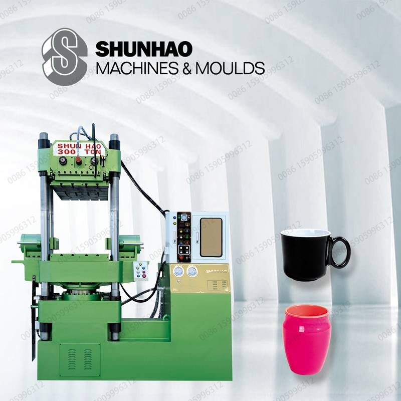 DTS double color automatic melamine cup molding machine