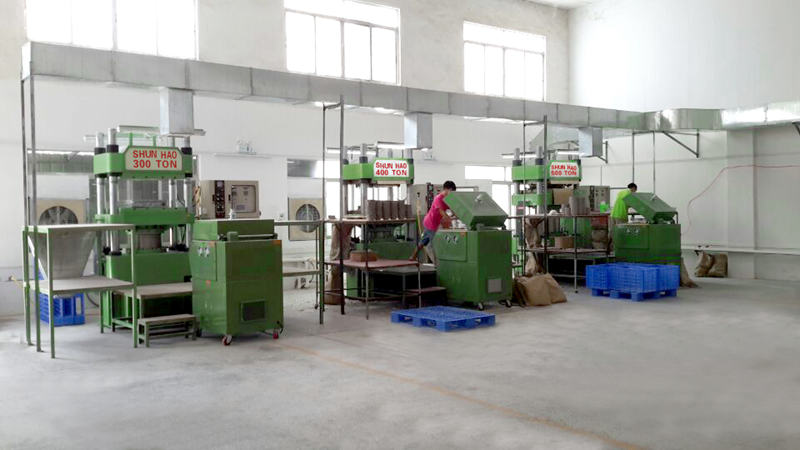 Shunhao melamine compress machine manufacturer