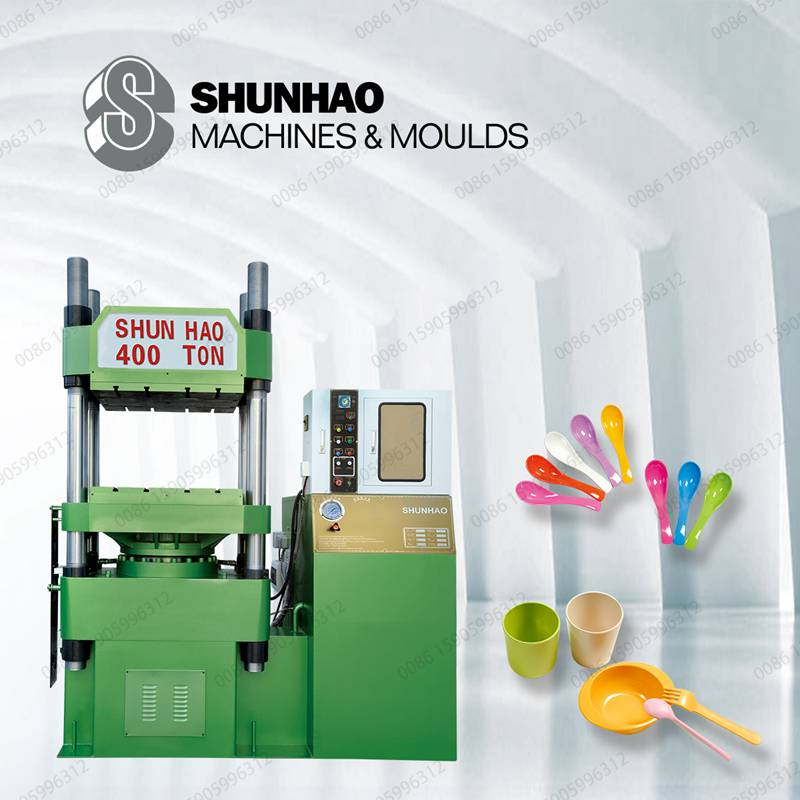 400T tableware moulding machine