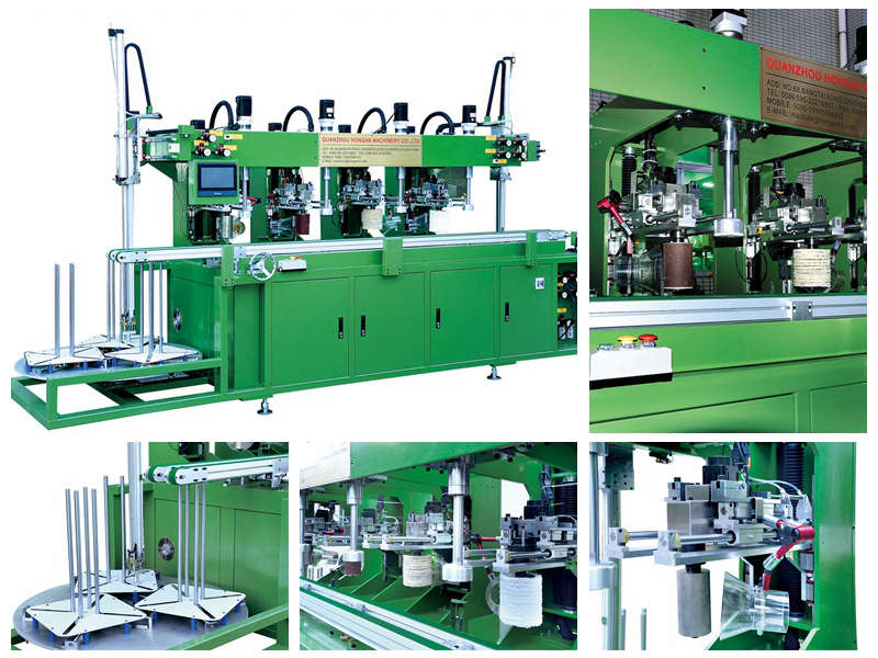 Melamine Crockery Auto Polishign Machine