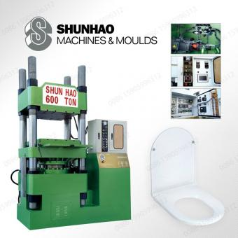 Toilet Seat Lid Compress Machine