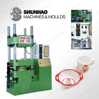 Single Color Tableware Moulding Machine