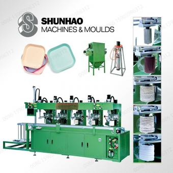 melamine dinnerware auto polishing machine